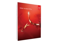 Adobe Acrobat XI Pro - Box pack - 1 bruger - DVD - Win - EU English