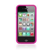 ADDUAL BUMPER FOR IPHONE 4S MAGENTA