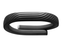 Jawbone UP24 - Medium - aktivitetssporer - Bluetooth - 22 g - onyx