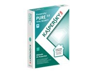 Kaspersky PURE Total Security - ( v. 3.0 ) - bokspakke ( 1 år ) - 3 PC'er