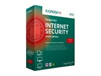 Kaspersky Internet Security Multi Device - Box pack ( 1 år ) - 3 enheder