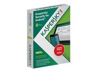 Kaspersky Security for Android - Box pack ( 1 år ) - 1 smartphone, 1 tablet