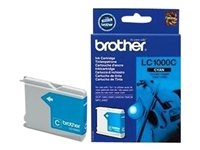 Brother Cyan Inkjet Cartridge (LC1000C)