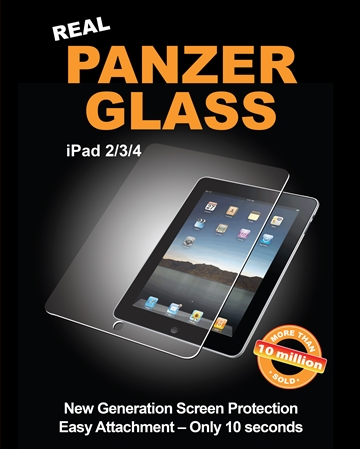 PanzerGlass til Apple iPad 2, 3, Retina
