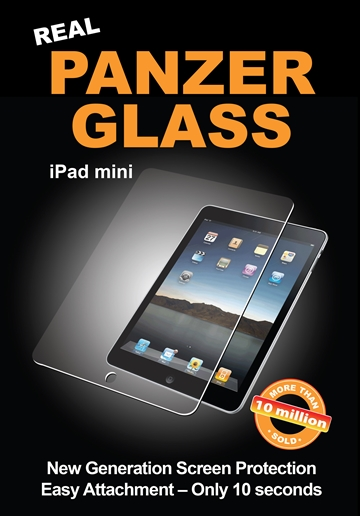 PanzerGlass til Apple iPad Mini, Retina