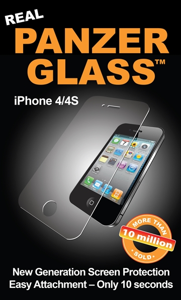 PanzerGlass til Apple iPhone 4, 4S