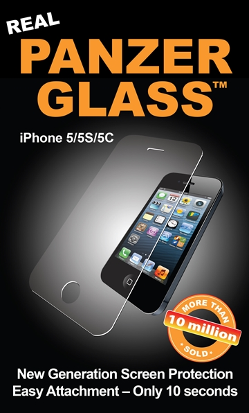 PanzerGlass til Apple iPhone 5, 5S, 5C