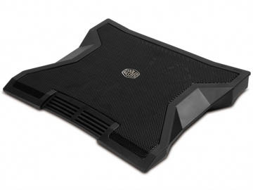 Cooler Master NotePal E1, Notebook Cooler, Black
