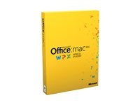 Microsoft Office for Mac Home and Business 2011 - 1 installering - licens
